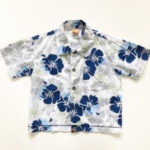 Charlie Rocket 2T Hawaiian Button Down Shirt
